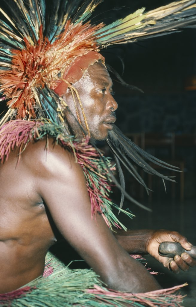 Stock Photo: 1850-9978 Cameroon, Witchcraft, Bamileke Witch Doctor.