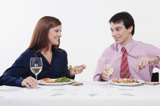 Stock Photo: 1884-61868 Couple having lunch together