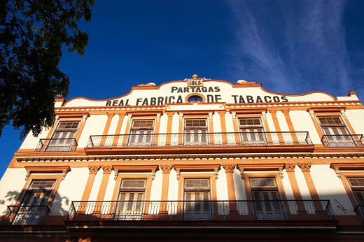 Caribbean, Cuba, Havana, Cigar factory  in Parque Central - Partagas Real Fabrica de Tabacos : Stock Photo
