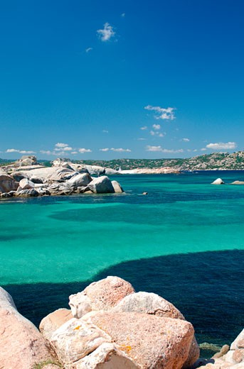 Stock Photo: 1885-12112 Italy, Sardinia, La Maddalena, View of bay