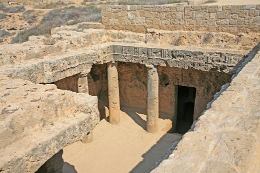Cyprus, South, Paphos, Tombs of the Kings : Stock Photo