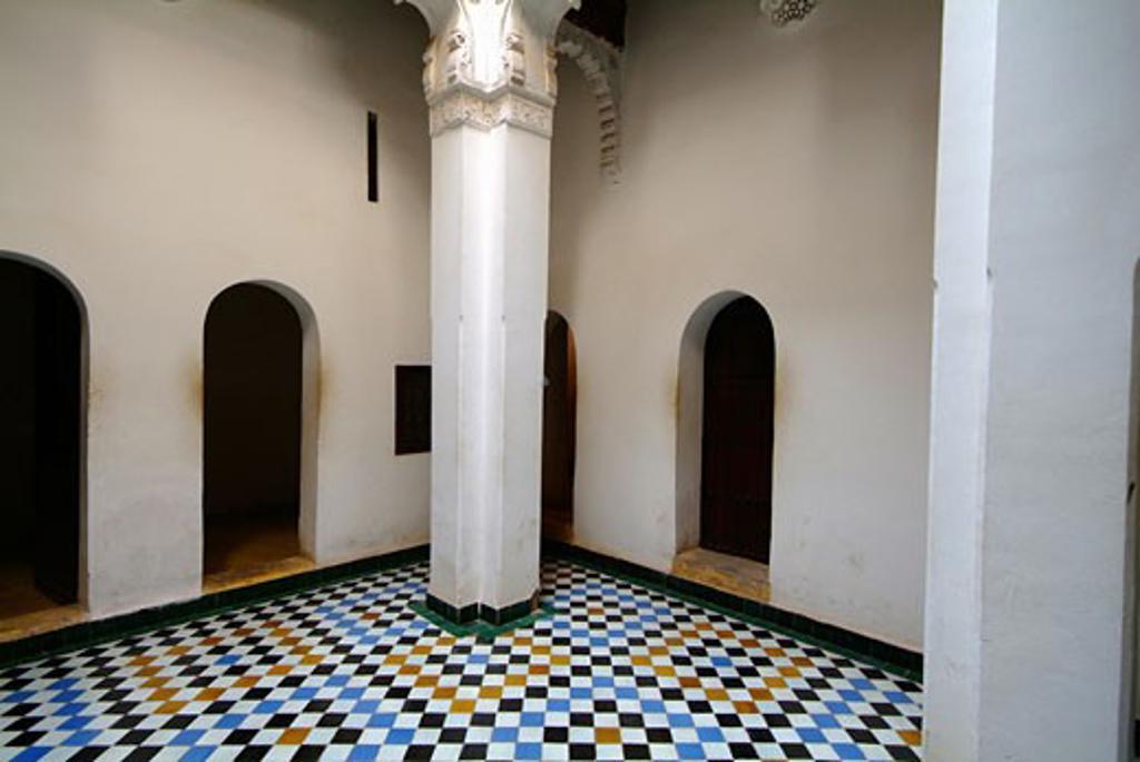 Stock Photo: 1885-15557 Morocco, , Marrakesh, Ali ben Youssef Medersa