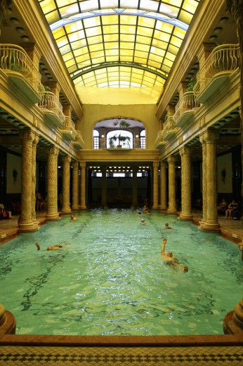 Hungary, , Budapest, Gellert Baths - spa : Stock Photo