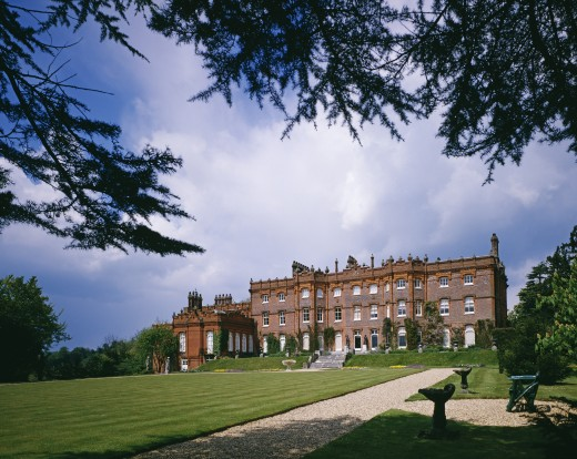 Stock Photo: 1885-19109 UK - England, Buckinghamshire, High Wycombe, Historic Houses - Hughenden Manor