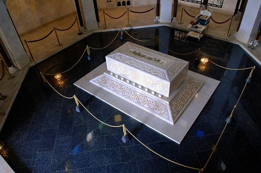 Tunisia, The Sahel, Monastir, Mausoleum of Habib Bourguiba - family tomb : Stock Photo