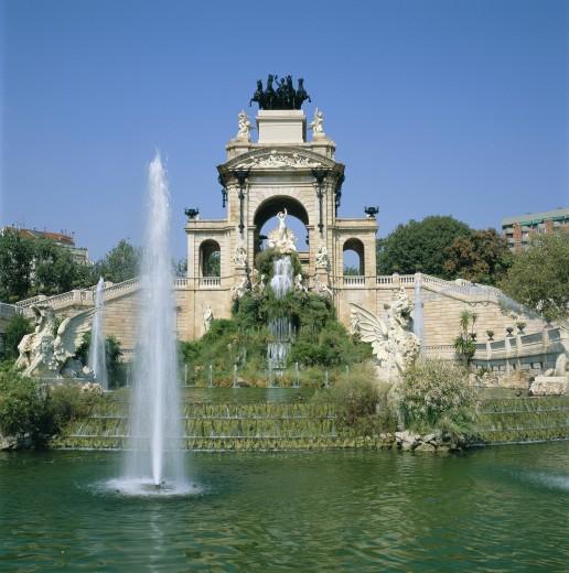 Stock Photo: 1885-2108 Spain, Catalunya, Barcelona, Parc De La Ciutadella