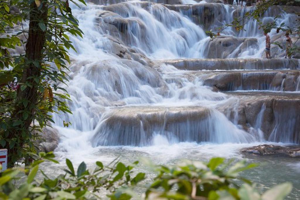Stock Photo: 1885-21265 Caribbean, Jamaica, Ocho Rios, Dunns River Falls