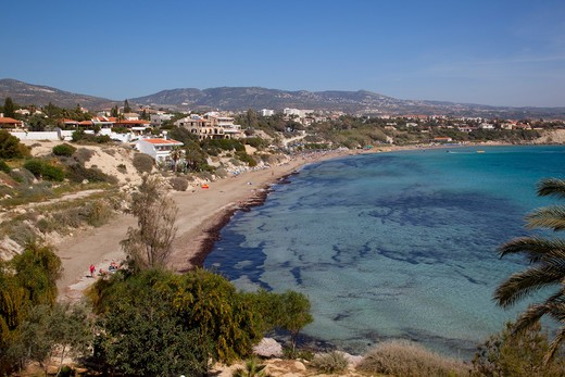 Cyprus, South Cyprus, Paphos, Coral Bay : Stock Photo