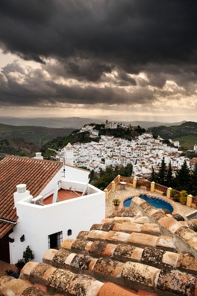 Stock Photo: 1885-21826 Spain, Andalucia, Casares, Casares, Andalucia, Costa del Sol, Malaga