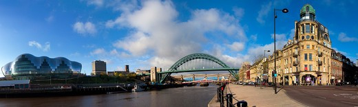 Stock Photo: 1885-22040 UK - England, Tyne and Wear, Newcastle upon Tyne, River Tyne