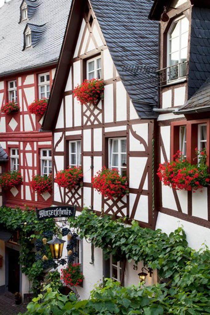 Stock Photo: 1885-22754 Germany, Rhineland-Palatinate, Koblenz, Half timbered building