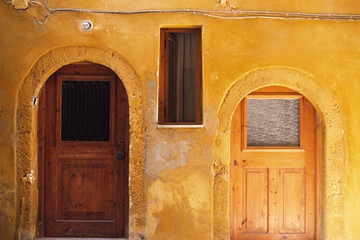 Greek Islands, Crete, Chania Old Town, Old Venetian House : Stock Photo
