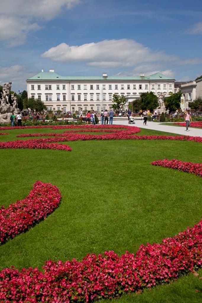 Austria, Salzburger Land, Salzburg, Mirabell Gardens : Stock Photo