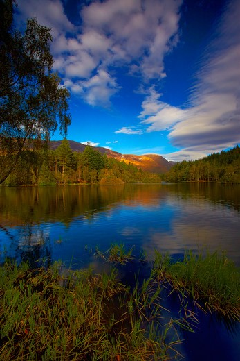 Stock Photo: 1885-23489 UK - Scotland, Highlands, Glencoe, Glencoe Lochan