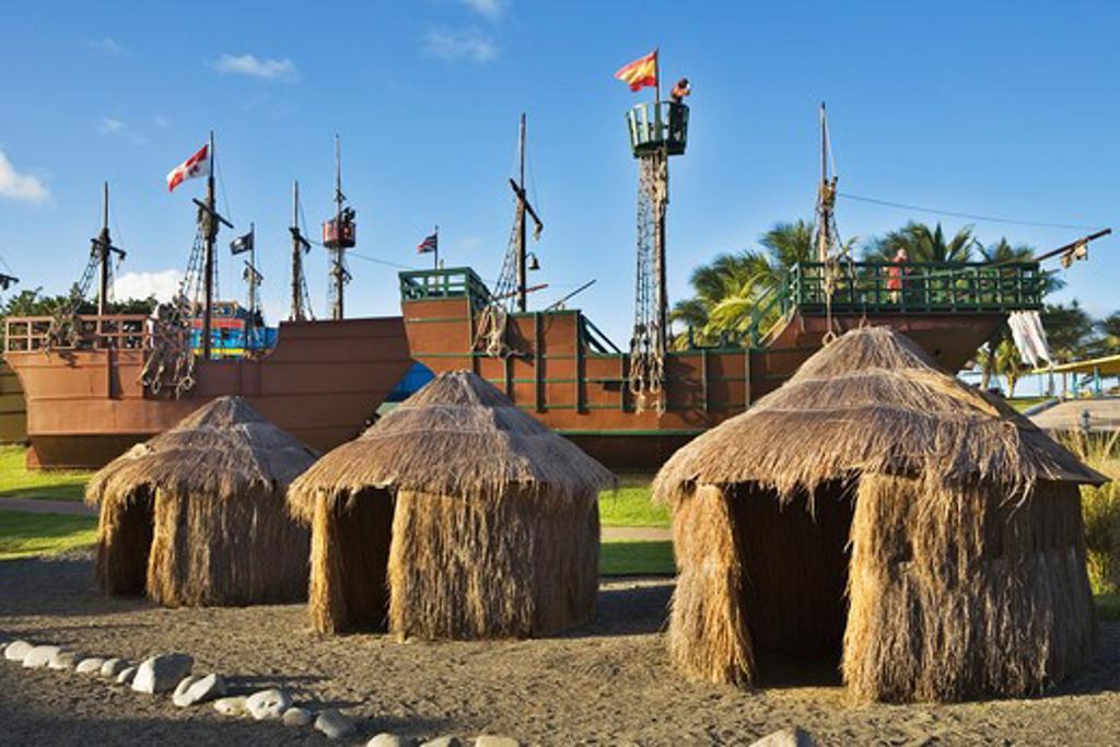 Caribbean, Puerto Rico, Arecibo, Arecibo Lighthouse and Historical Park - open air exhibition : Stock Photo