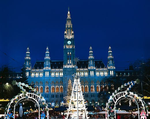 Austria, , Vienna, Christmas : Stock Photo
