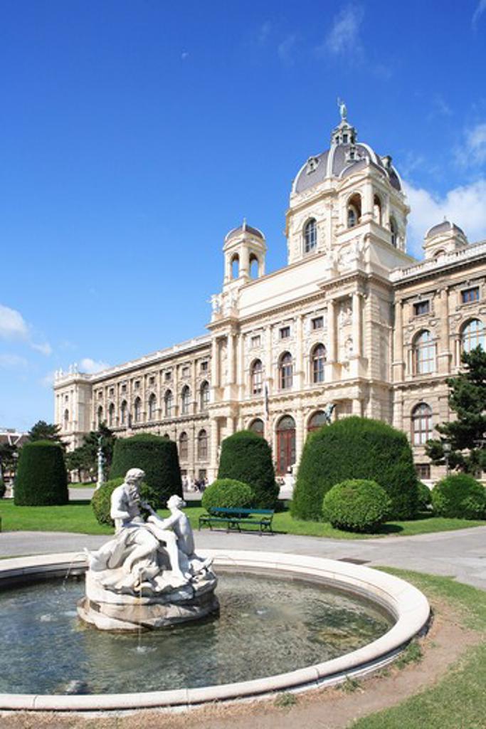 Austria, Vienna, Naturhistorisches Museum - Natural History Museum : Stock Photo