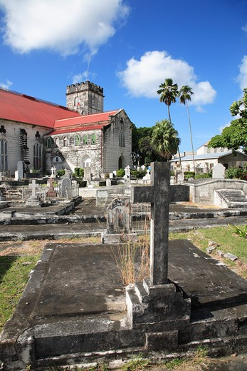 Caribbean, Barbados, Bridgetown, St Michaels Cathedral : Stock Photo