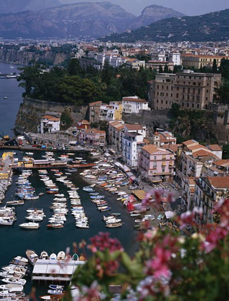 Stock Photo: 1885-2711 Italy, Campania, Sorrento, Harbour