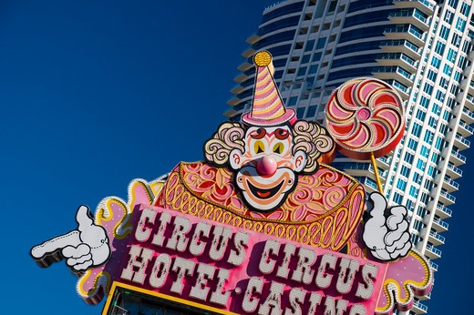 Stock Photo: 1885-28352 USA, Nevada, Las Vegas, Circus Circus Hotel and Casino