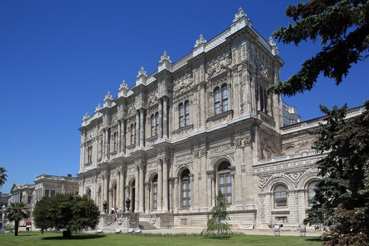 Stock Photo: 1885-28475 Turkey, Istanbul, Dolmabahce Palace