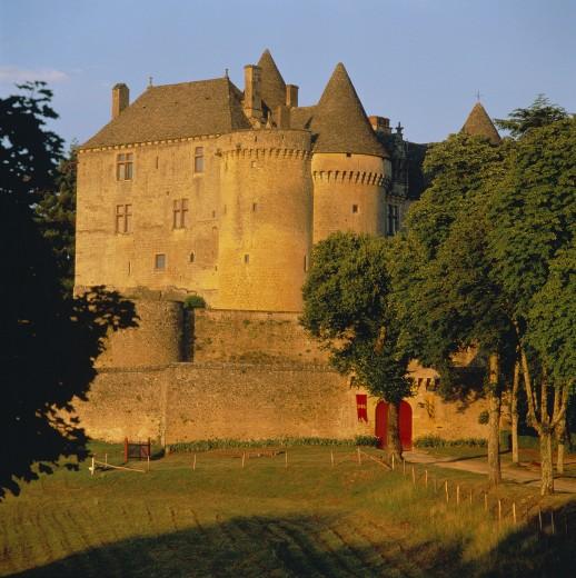 Stock Photo: 1885-2891 France, The Dordogne, Sainte Mondane, Chateau De Fenelon