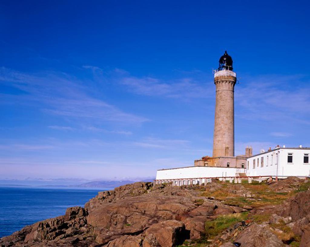 Stock Photo: 1885-28933 UK - Scotland, Lothian, Ardnamurchan Point, Ardnamurchan Lighthouse