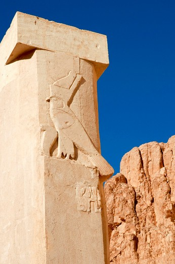 Egypt, Luxor - near, Temple of Queen Hatshepsut : Stock Photo