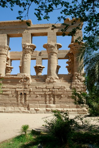 Stock Photo: 1885-29325 Egypt, Aswan - near, Temple of Isis at Philae