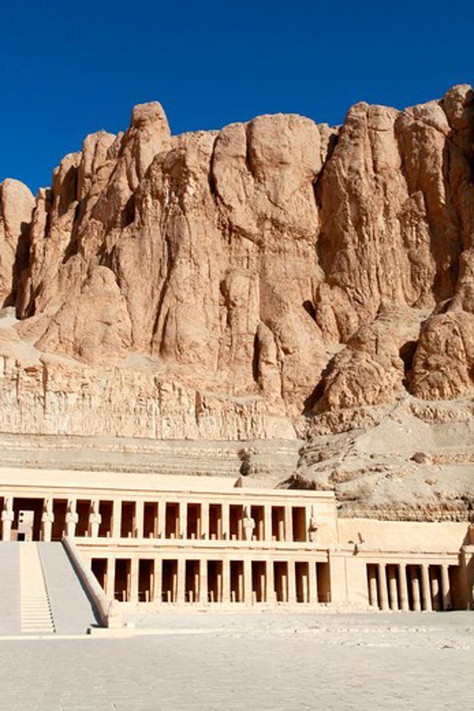 Stock Photo: 1885-29332 Egypt, Luxor - near, Temple of Queen Hatshepsut