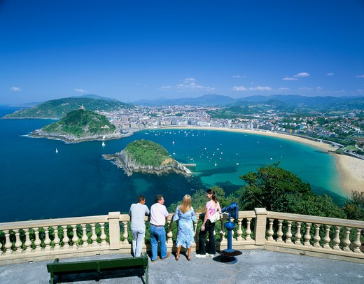 Bay View, Basque San Sebastian, Spain : Stock Photo