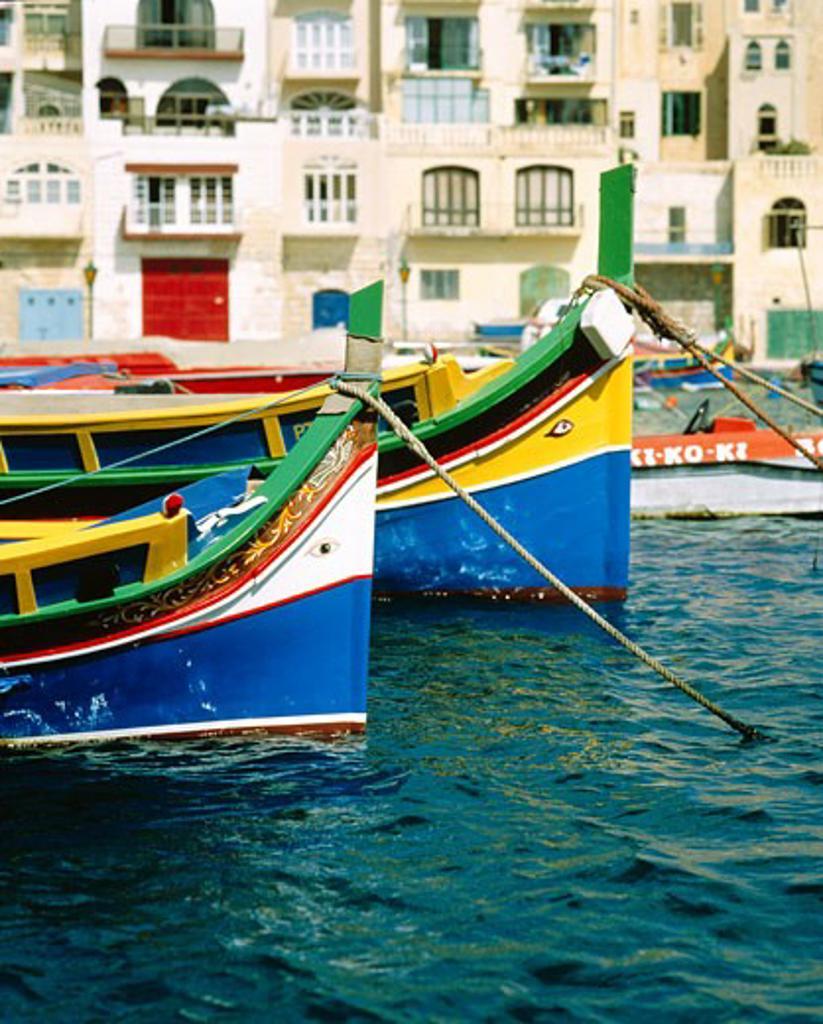 Maltese Islands, Malta, St. Julians, Spinola Bay : Stock Photo