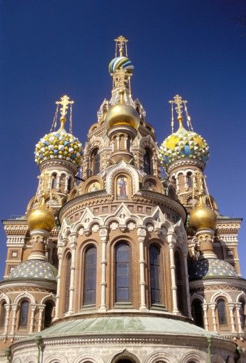 Russian Federation, , St Petersburg, Church of the Bleeding Saviour : Stock Photo