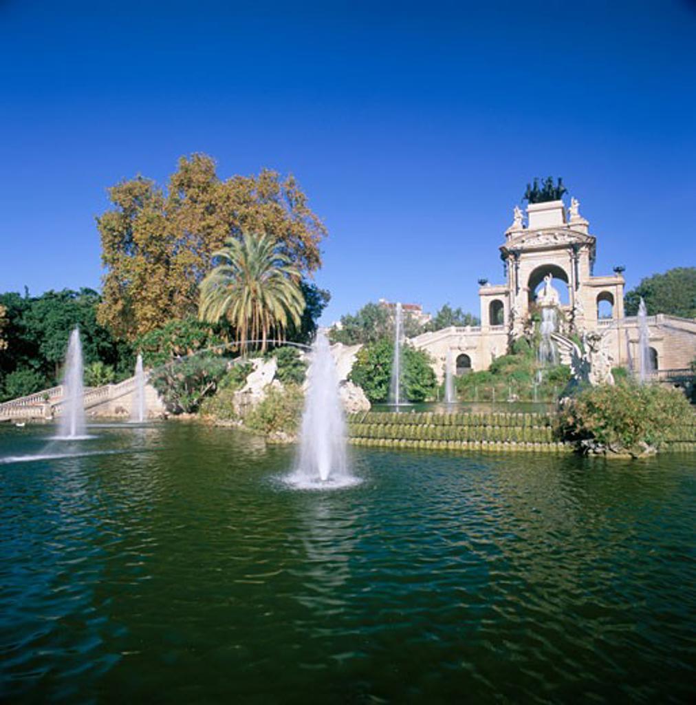 Stock Photo: 1885-3944 Spain, Catalunya, Barcelona, Parc De La Ciutadella