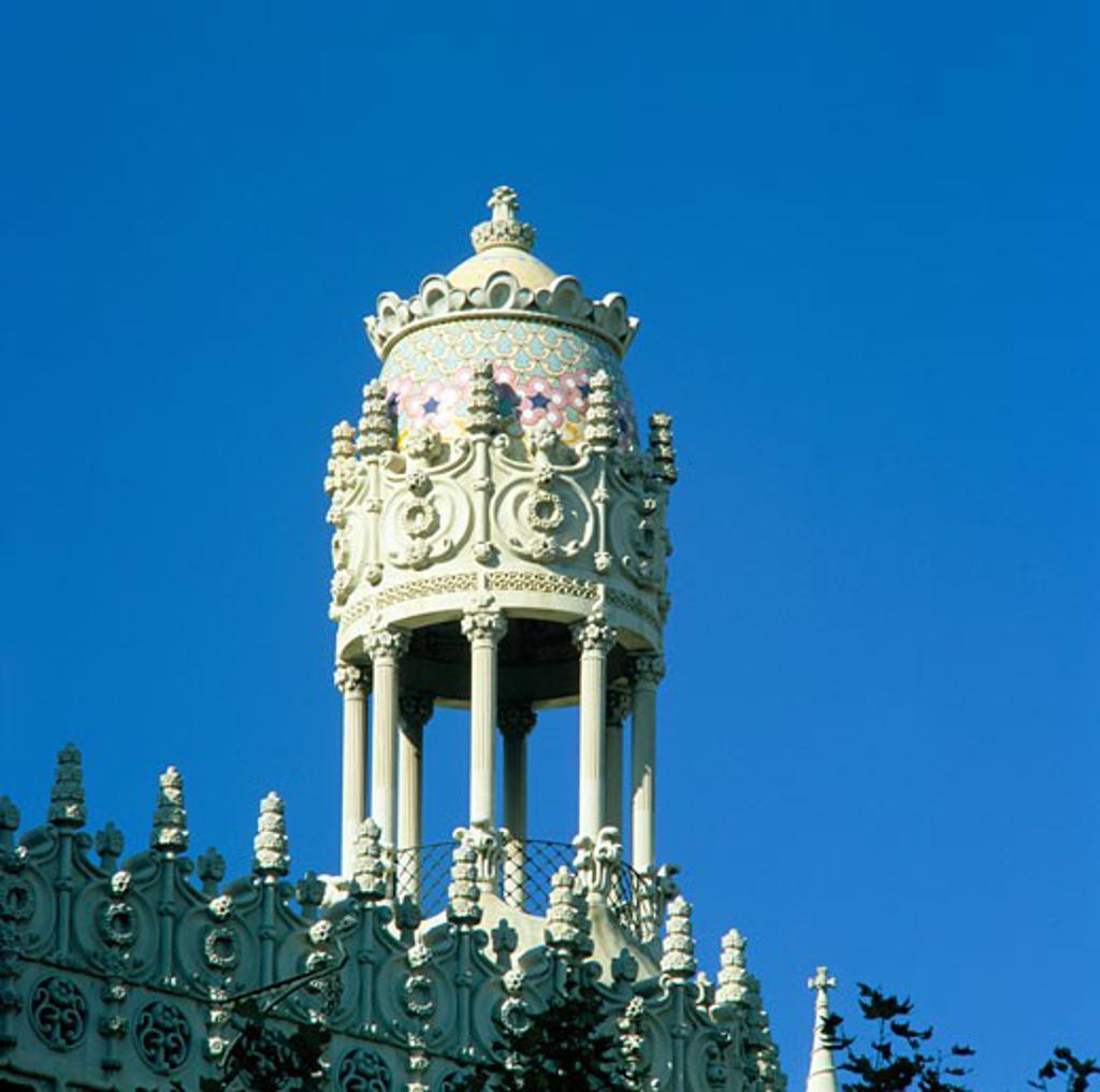Spain, Catalunya, Barcelona, Casa Lleo Morera : Stock Photo