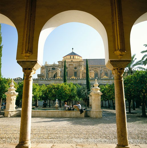 Spain, Andalucia, Cordoba, The Mezquita : Stock Photo