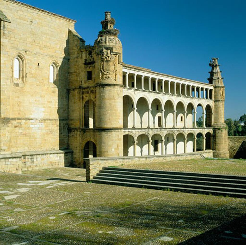 Stock Photo: 1885-6111 Spain, Extremadura, Alcantara, Convento San Benito
