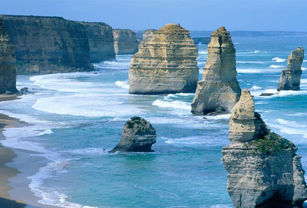 Australia, Victoria, Port Campbell, Twelve Apostles - Great Ocean Road : Stock Photo