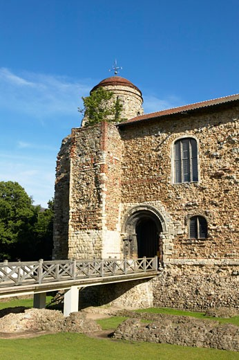 Stock Photo: 1885-9603 UK - England, Essex, Colchester, Colchester Castle