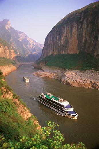 Yangtse River,China : Stock Photo