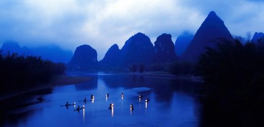 Guilin,Guangxi,China : Stock Photo