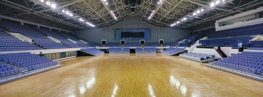 Stock Photo: 1886-22612 Olympic Sports Center Gymnasium,Beijing,China