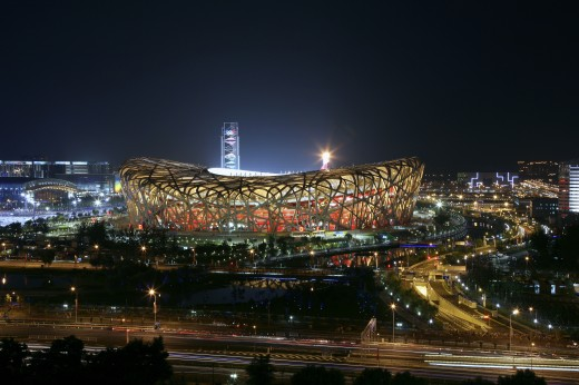 Stock Photo: 1886-22668 Central Area Of Beijing Olympic Games,China