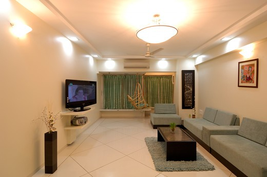 Interior of residential flat at Bombay Mumbai, Maharashtra, India Property Released : Stock Photo