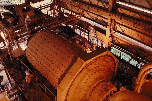Stock Photo: 1886-50199 Ball mill;  Heavy engineering
