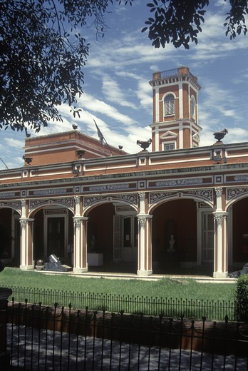 Stock Photo: 1886-50489 Exterior of the NATIONAL historic MUSEUM in barrio SAN TELMO - BUENOS AIRES, ARGENTINA