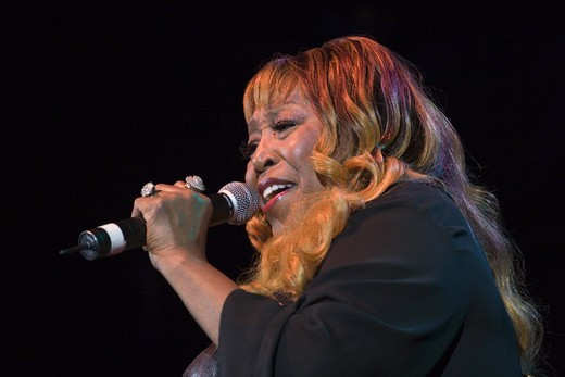 Stock Photo: 1886-50609 DENISE LASALLE sings at the MONTEREY BAY BLUES FESTIVAL - MONTEREY, CALIFORNIA