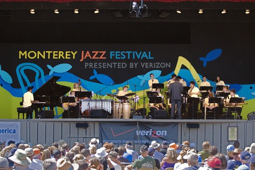 Stock Photo: 1886-54076 The NEXT GENERATION ORCHESTRA performs at THE MONTEREY JAZZ FESTIVAL