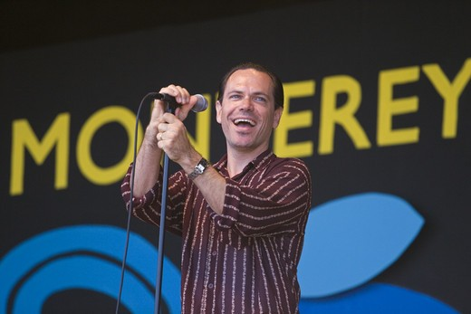 Stock Photo: 1886-54080 KURT ELLING performs with The NEXT GENERATION ORCHESTRA at THE MONTEREY JAZZ FESTIVAL