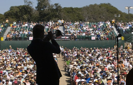 CHRIS BOTTI (Trumpet) performs at THE MONTEREY JAZZ FESTIVAL : Stock Photo